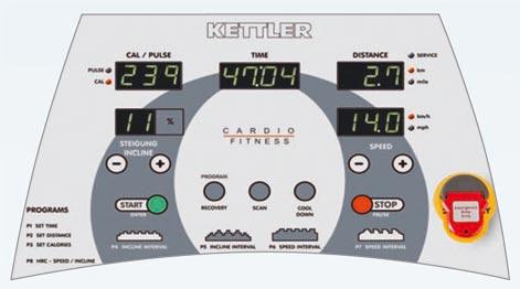 Kettler Marathon Tx1 konzol